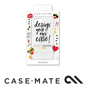 Case-Mate Naked Tough Custom Case with Stickers suits iPhone 7 Plus Clear