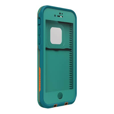 LifeProof Fre Case For iPhone 7 Plus Light Teal/Maui Blue/Mango Tango