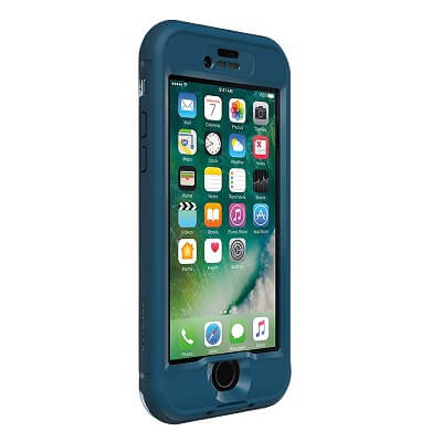 LifeProof Nuud Case For iPhone 7 Plus Indigo/Blazer Blue/Clear