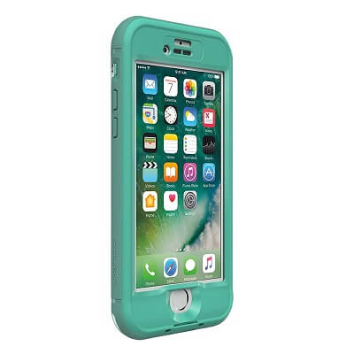 LifeProof Nuud Case For iPhone 7 Plus Soft Mint/Taliside Teal/Clear