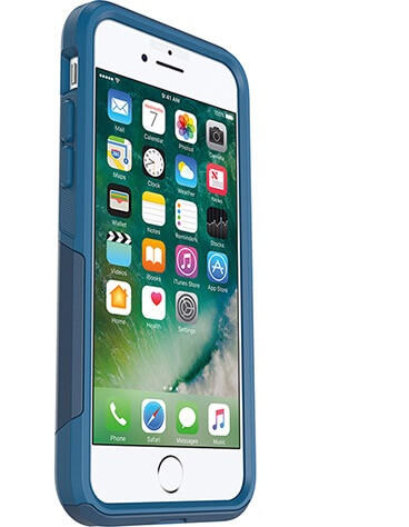 OtterBox Commuter Case suits iPhone 7 Plus Blazer Blue/Sea Blue