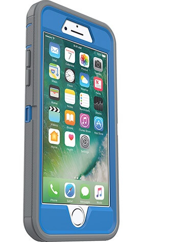 iPhone 7 OtterBox Defender Case Blue/Grey