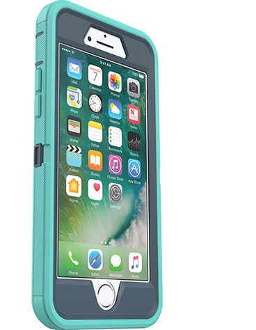 iPhone 7 OtterBox Defender Case Blue/Mint