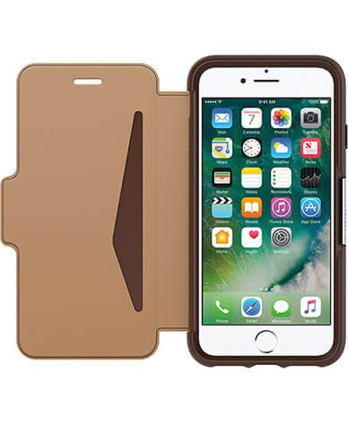 OtterBox Strada Case suits iPhone 7 Plus Burnt Saddle