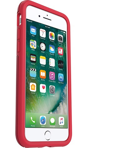 OtterBox Symmetry Case suits iPhone 7 Plus Flame Red/Race Red
