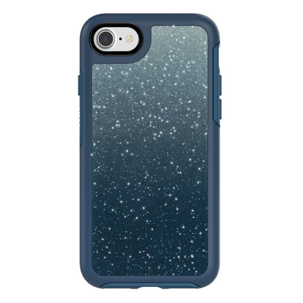 OtterBox Symmetry Series Crystal Edition for iPhone 7/8 w/ Alpha Glass - Blue Ombre