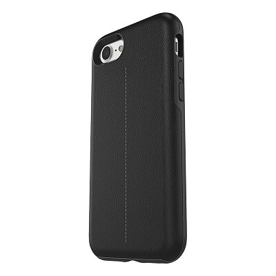 OtterBox Symmetry Leather Case Black Suits iPhone 7/8