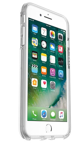 OtterBox Symmetry Clear Case suits iPhone 7 Plus Clear