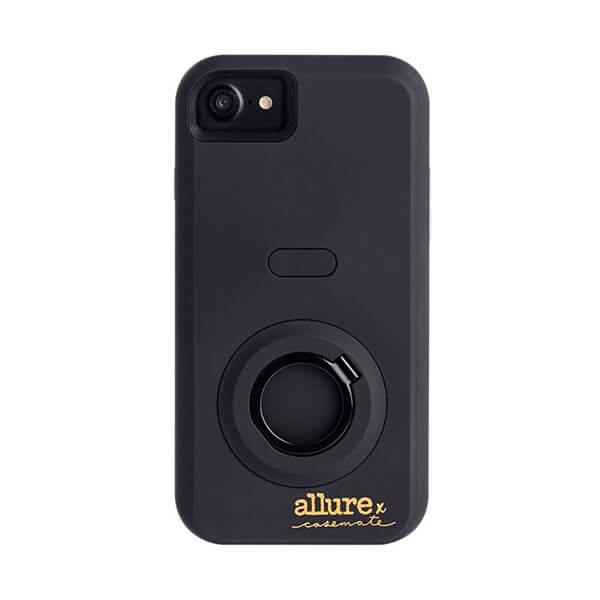 Case-Mate Allure Selfie Case suits iPhone 6 Plus/6S Plus/7 Plus/8 Plus Black