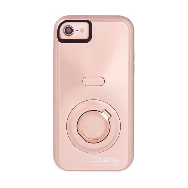 Case-Mate Allure Selfie Case suits iPhone 6 Plus/6S Plus/7 Plus/8 Plus Rose Gold