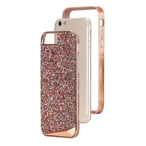 Case-Mate Brilliance Case suits iPhone 6/6S/7/8 Rose Gold