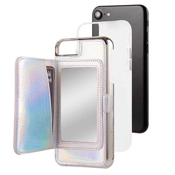 Case-Mate Compact Mirror Case suits iPhone 6/6S/7/8 Iridescent