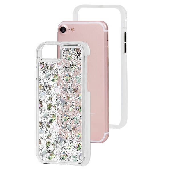 Case-Mate Karat Case suits iPhone 6/6S/7/8 Mother Of Pearl