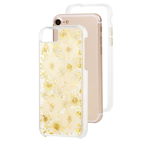 Case-Mate Karat Petals Case suits iPhone 6/6S/7/8 White