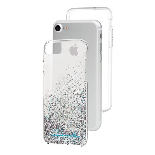 Case-Mate Waterfall Case suits iPhone 6/6S/7/8 Iridescent
