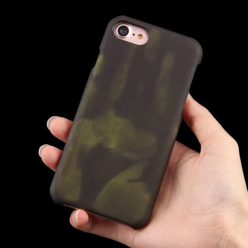 iPhone 7 Heat Sensitive Colour Changing Case Green