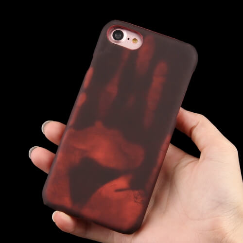 iPhone 8 Heat Sensitive Colour Changing Case Red