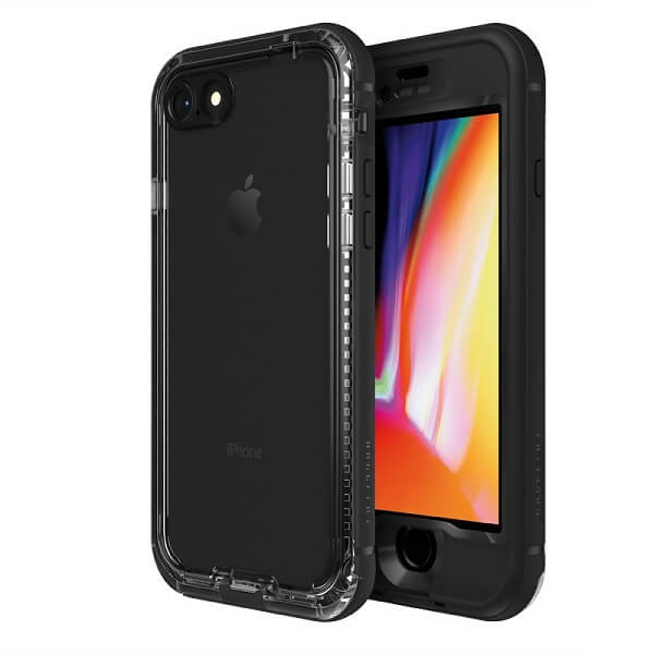 LifeProof Nuud Case For iPhone 8 Black