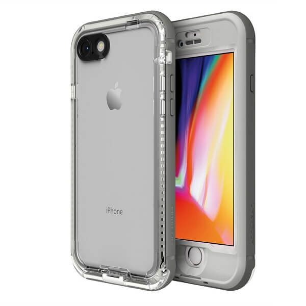 LifeProof Nuud Case For iPhone 8 Snowcapped