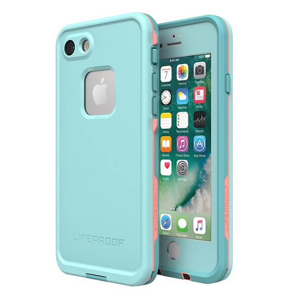 LifeProof Fre Case suits iPhone 8 Blue/Coral/Mandalay Bay
