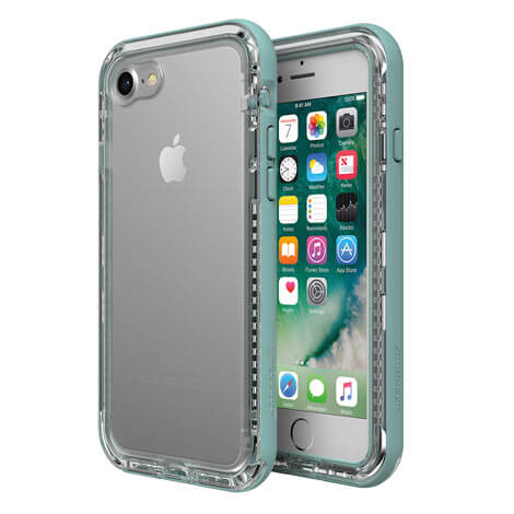 LifeProof Next Case suits iPhone 8 Clear And Aquafier