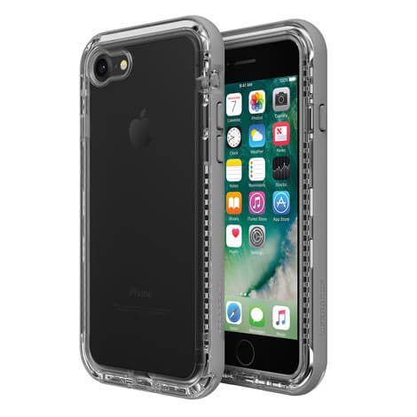 LifeProof Next Case suits iPhone 8 Clear And Grey