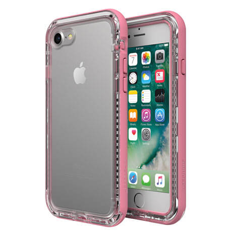 LifeProof Next Case suits iPhone 8 Clear And Rose