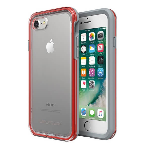 LifeProof Slam Case suits iPhone 8 Clear/Cherry/Sleet
