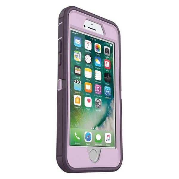 OtterBox Defender Case suits iPhone 7 And 8 Purple Nebula