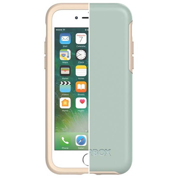 OtterBox Symmetry Case suits iPhone 7 And 8 Muted Waters