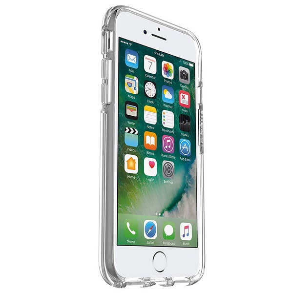 OtterBox Symmetry Clear Case suits iPhone 7 And 8 Clear