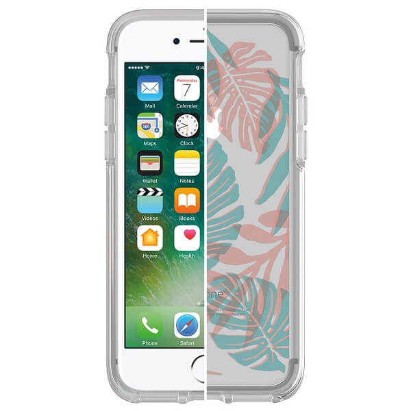 OtterBox Symmetry Clear Case suits iPhone 7 And 8 Easy Breezy