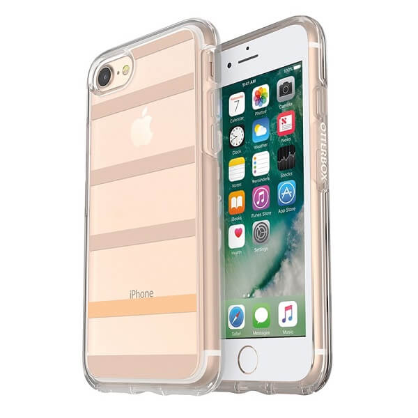 OtterBox Symmetry Clear Case suits iPhone 7 And 8 Inside The Lines
