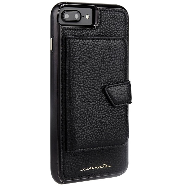 Case-Mate Compact Mirror Case suits iPhone 8 Plus And 7 Plus Black