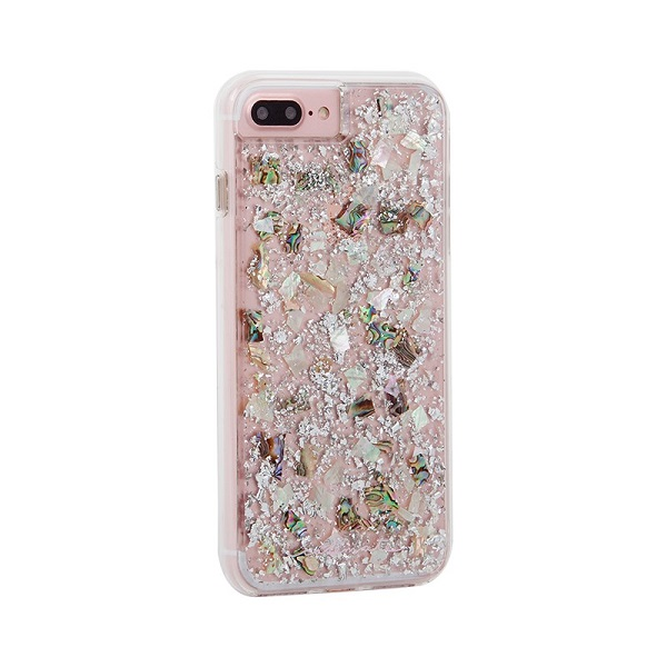 Case-Mate Karat Case suits iPhone 8 Plus And 7 Plus Mother Of Pearl