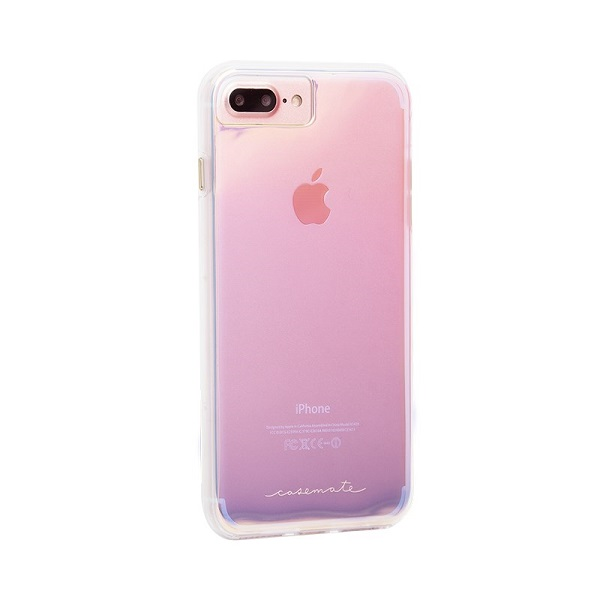 Case-Mate Naked Tough Case suits iPhone 8 Plus And 7 Plus Iridescent