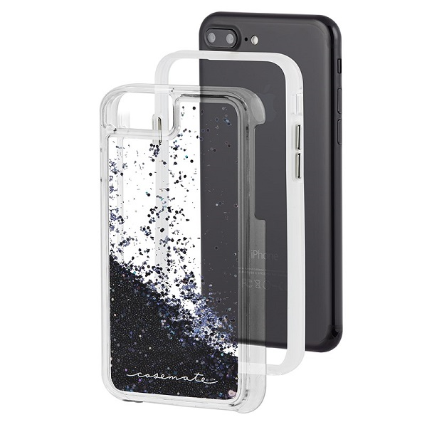 Case-Mate Waterfall Case suits iPhone 8 Plus And 7 Plus Black