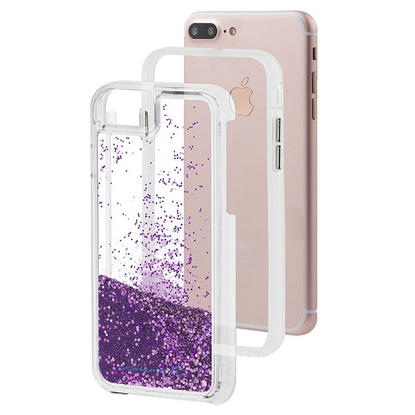 Case-Mate Waterfall Case suits iPhone 8 Plus And 7 Plus Magenta