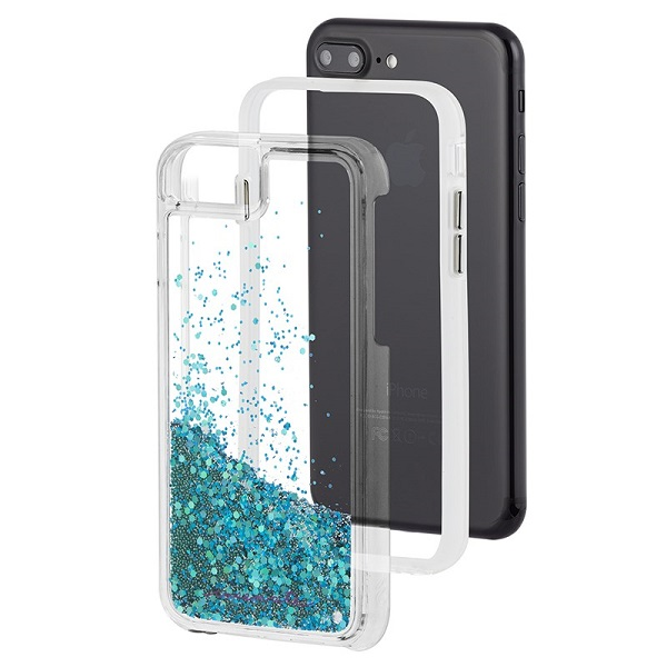 Case-Mate Waterfall Case suits iPhone 8 Plus And 7 Plus Teal