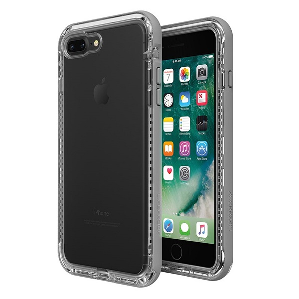 LifeProof Next suits iPhone 8 Plus Clear Grey