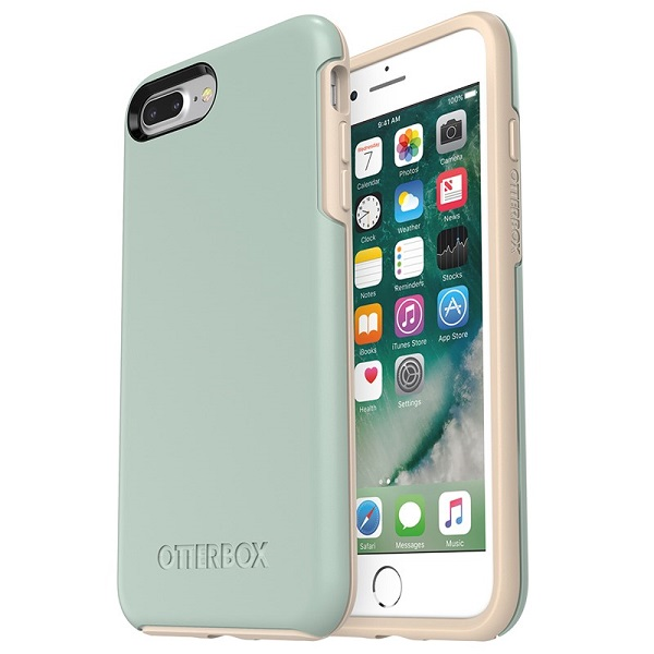 OtterBox Symmetry Case suits iPhone 8 Plus And 7 Plus Muted Waters