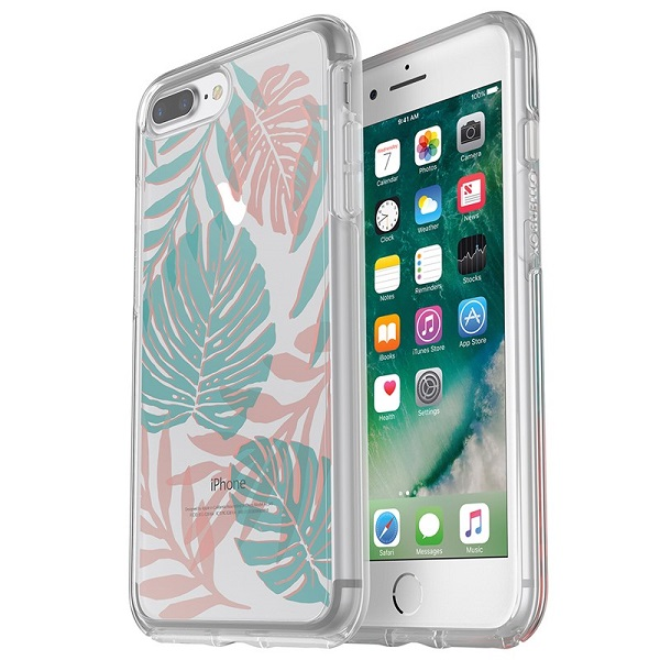 OtterBox Symmetry Clear Case suits iPhone 8 Plus And 7 Plus Easy Breazy