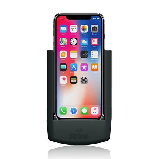 Strike Alpha Apple iPhone X Car Cradle Professional Install