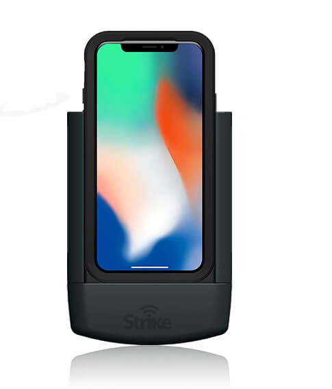 Strike Alpha Apple iPhone X Car Cradle for LifeProof case Professional Install