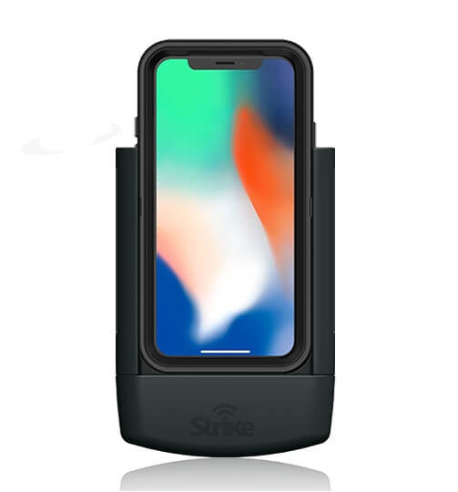 Strike Alpha Apple iPhone X Car Cradle for Otterbox Defender Case Professional Install