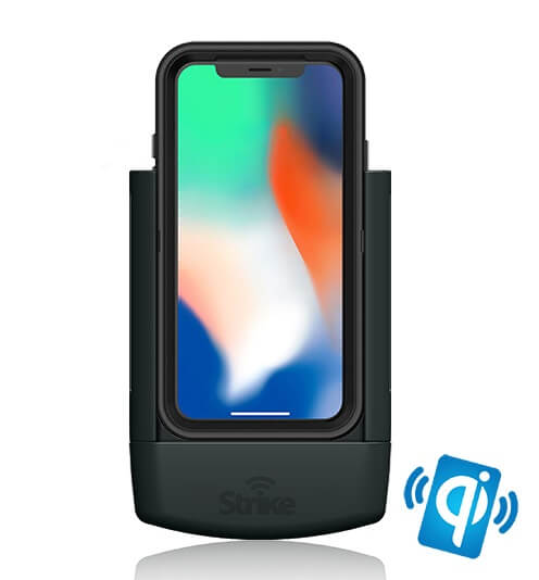 Strike Alpha Apple iPhone X Car Cradle for Otterbox Defender Case DIY Wireless Charging