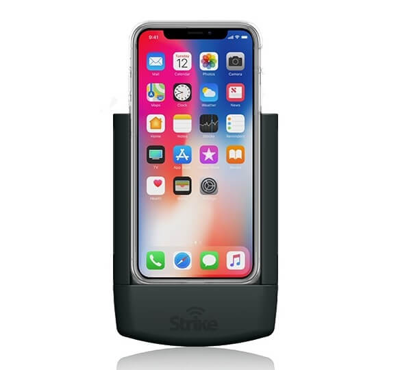 Strike Alpha Apple iPhone X Car Cradle with Strike Case Professional Install