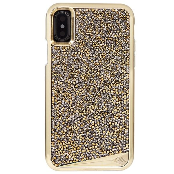 Case-Mate Brilliance Case suits iPhone X Champagne