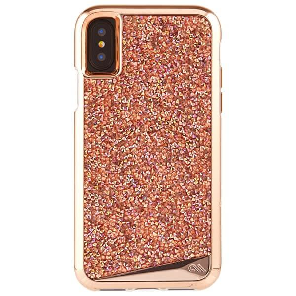 Case-Mate Brilliance Case suits iPhone X Rose Gold