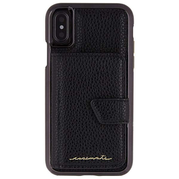 Case-Mate Compact Mirror Case suits iPhone X Black